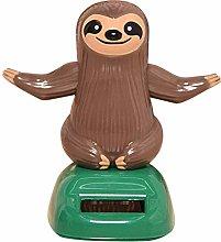 Lovely Cartoon Sloth Solar Swing Car Dashboard