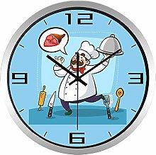 Lovely Chef Restaurant Wall Clock Best Decorative