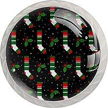 Lovely Christmas Stockings 4 Pack Crystal Glass