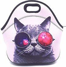 Lovely Kitten Lunch Bags Picnic Bags Cooler Bag