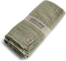 Lovely Linen - 100% Linen Table Cloth in Avocado