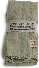 Lovely Linen - 100% Linen Table Napkin in Avocado
