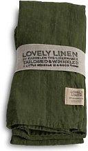 Lovely Linen - 100% Linen Table Napkin in Jeep