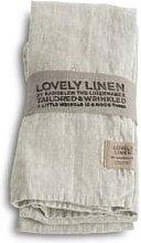 Lovely Linen - 100% Linen Table Napkin in Light