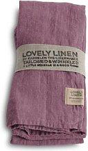 Lovely Linen - 100% Linen Table Napkin in Old Rose