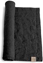 Lovely Linen - 100% linen table runner in dark