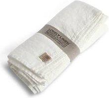 Lovely Linen - 100% Linen Tablecloth in Off White