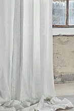 Lovely Linen Airy Curtain 140 x 280 - Off-White