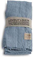 Lovely Linen - Linen Table Napkin in Dusty Blue -