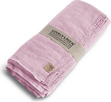 Lovely Linen Tablecloth 145x250 - Dusty Pink