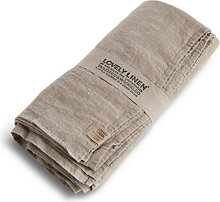 Lovely Linen Tablecloth 145x250 - Natural Beige
