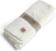 Lovely Linen Tablecloth 145x300 - Off-White