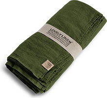 Lovely Linen Tablecloth 145x380 - Jeep Green
