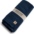 Lovely Linen Tablecloth 145x380 - Midnight Blue