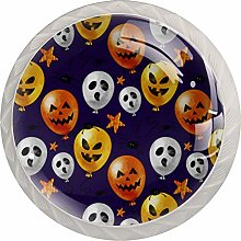 Lovely Watercolor Halloween Balloon, Modern