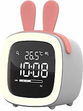 LovePlz Alarm Clock - Cartoon Rabbit Ear Shape