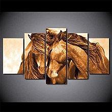LOVEQ Canvas Wall Art 5 Pieces Canvas 5 Pcs