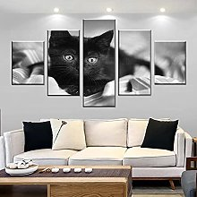 LOVEQ Picture Prints On Canvas 5 Pieces- Wall Art