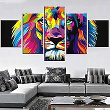LOVEQ Posters & Prints 5 Piece Stretched And