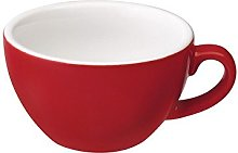 Loveramics Egg 150ml Flat White Cup Red
