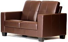 Loveseat ClassicLiving Upholstery Colour: Brown