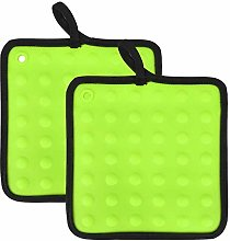 Loveuing Oven and Pot Holders Set, Silicone and