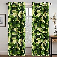 LOVEXOO Blackout Curtains for Bedroom Camouflage