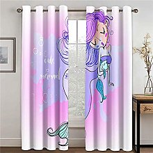 LOVEXOO Blackout Curtains for Bedroom cartoon