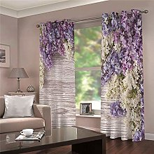 LOVEXOO Blackout Curtains lavender drapes for