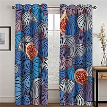 LOVEXOO Thermal Blackout Curtains - Abstract