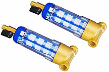 LOVIVER 2x Copper Tap Water Purifier Well