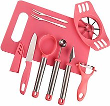 LOVIVER 8 In 1 Fruit Tool Set Slicer Peelers Corer