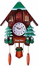 LOVIVER Cuckoo Wall Clock Intelligent Tell Time