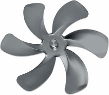 LOVIVER Fireplace Fan Stove Fan Replacement Blades