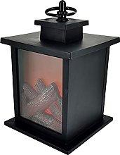 LOVIVER Hanging Fireplace Lantern Tabletop