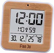 LOVIVER LCD Digital Alarm Clock Thermometer