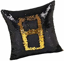 LOVIVER Lumbar Pillow Case Cover Protector Square
