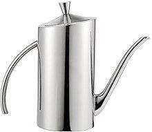 LOVIVER Stainless Metal Jug Can Pourer Vinegar