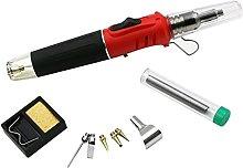 LOVIVER Tool Flame Torch Iron Butane Soldering Ki