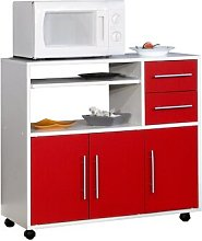 Low Microwave Cupboard Ebern Designs