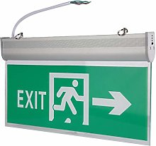 Low Power Practical Wear Resistant Exit Lighting