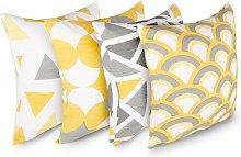 Lowe Cotton Cushion Cover August Grove Colour: