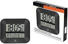 Lowell Radio Controlled Wall Clock Grey jd9906