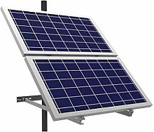 Lowenergie Solar Panel Mounting Brackets 2 Long Sides, White