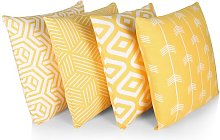 Lowery Cotton Cushion Cover August Grove Colour: