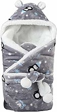 Lowral Winter Baby Blanket Wrap Double Layer
