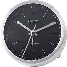 Loxley Alarm Clock Ravel Finish: Brushed Silver