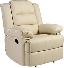 Loxley Bonded Leather Recliner Armchair Sofa Home