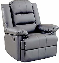 Loxley Leather Recliner Armchair Sofa Home Lounge
