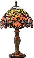 Loxton Lighting 20cm Red Dragonfly with Jewels